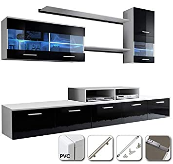 muebles bonitos - Mueble de salón Claudia Mod.7 Puertas PVC ...