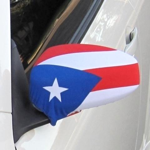 Puerto Rico Flag Side View Mirror Covers (Set of 2) Fits Most Cars & Small SUV's Rican Cover