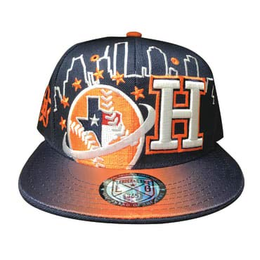 7343ffcea7c Houston Astros Flat Bill Hats