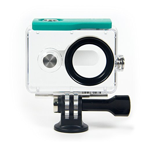 YI Action Camera Waterproof Case: Green