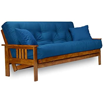 stanford futon frame full size solid wood