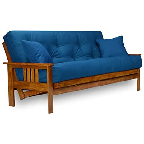 stanford futon frame full size solid wood - Wood Futon Frame
