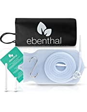 EBENTHAL VITAL ® Premium klysma darmkrimpset • siliconen zak 2L • krimpen voor darmreiniging • Irrigator darmspoeling en intieme douche • extra lange 2M slang • incl. handleiding • BPA-vrij
