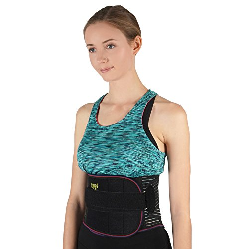 Lumbosacral Brace - SOLES Lumbosacral Lumbar Lower Back Support - Adjustable Neoprene Brace - Corset to Help Alleviate Back Pain,Support Core Strength - Promotes Healthy Weight Loss - Unisex,One Size Fits Most