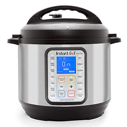Instant Pot DUO Plus 60 Programmable Pressure Cooker...