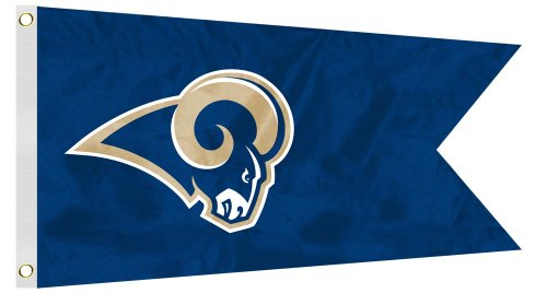NFL St. Louis Rams Boat/Golf Cart Flag ()