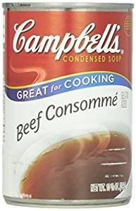 Campbell's Condensed Soup, Beef Consomme, 10.5 Ounce (Pack of 6)