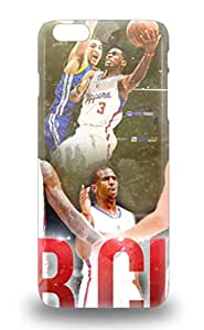High Quality NBA Los Angeles Clippers Case For Iphone 6 Plus Perfect Case 3D PC Soft Case
