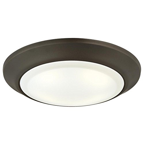 - Westinghouse Lighting 6322800 Large LED Indoor/Outdoor Dimmable Surface Mount Wet Location, Oil Rubbed Bronze Finish with Frosted Lens