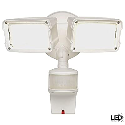 Defiant 180 Degree White Motion Activated LED Security Flood Light MST18920DLWDF