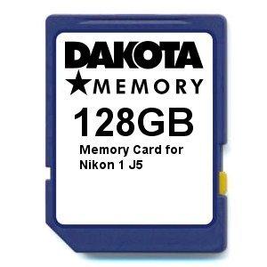 Tarjeta de Memoria de 128 GB para Nikon 1 J5.: Amazon.es: Informática