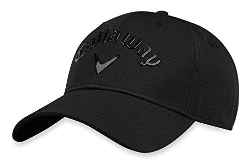 Callaway Golf 2018 Liquid Metal Adjustable Hat, Adjustable, Black/ Black/ Silver