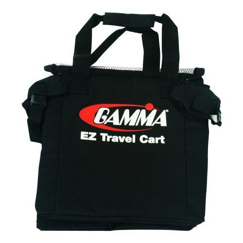 Gamma Ballhopper Ez Travel Cart Bag, Black