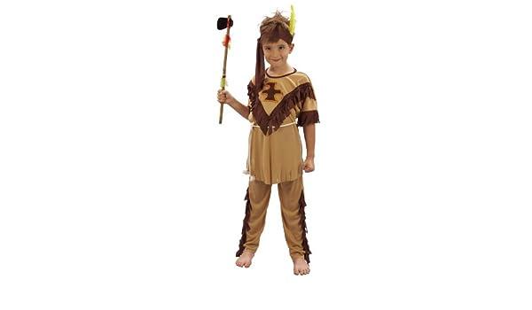 Disfraz de indio para niño 10 - 12 ans (L): Amazon.es: Juguetes y ...