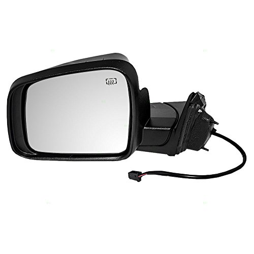 - Drivers Power Side View Mirror Heated Manual Folding 11-18 Jeep Grand Cherokee Replaces 5SG19TZZAF CH1320330 128-02215L