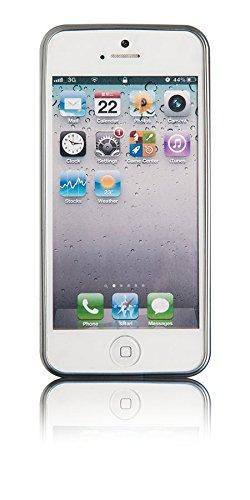 Spada 4052335023656 Electro-Style Schutzhülle für Apple iPhone 5/5S/5SE silber