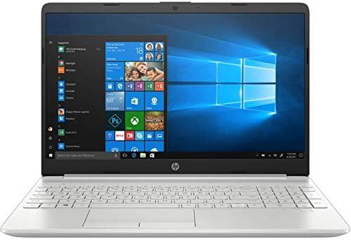 HP 15 Thin & Light 15.6″ (39.62cms) FHD Laptop (11th Gen Intel Core i5-1135G7, 8GB DDR4, 256GB SSD + 1TB HDD, Win 10 Home, MS Office, 2GB MX350 Graphics, FPR, Natural Silver, 1.76 Kg), 15s-du3047TX