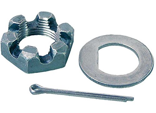 (Tekonsha 5775 Spindle Nut Kit with D-Washer)
