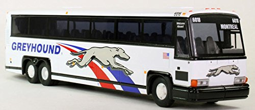 Corgi MCI Greyhound model bus New in Box! C53404 1:50 Scale