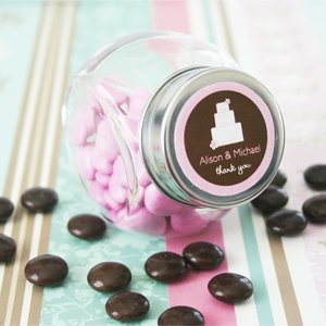 Theme Candy Jars - Baby Shower Gifts & Wedding Favors (Set of 24) Personalized Theme Candy Jars