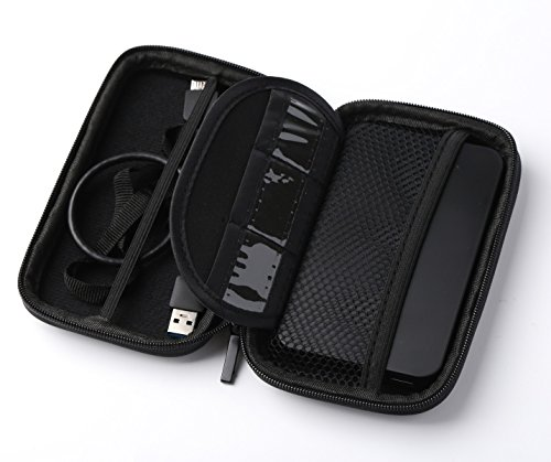 Junmin Laptop USB 3.0 Sata III External Hard Drive Enclosure Case with bag for 2.5 Inch Slim SSD HDD by JUNMIN