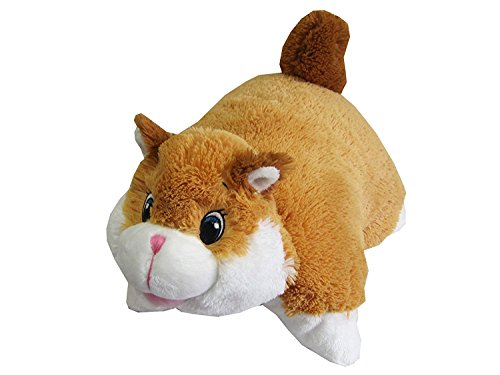 """Chipmunk Zoopurr Pets 19"""" Large, 2-in-1 Stuffed Animal and P"""