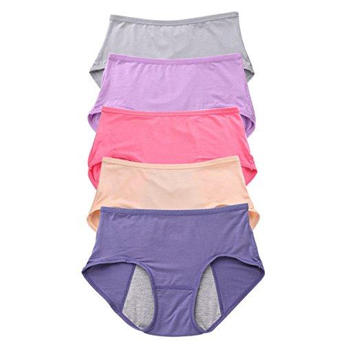 7638aad6aa OUENZ Cotton Underwear Women