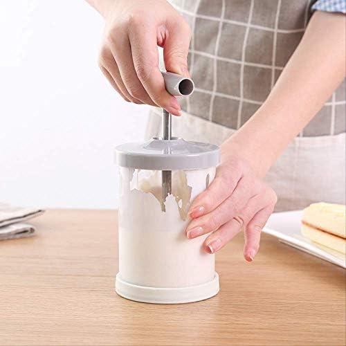 Schiuma manuale per latte, latte e latte a doppia rete, schiuma, accessorio da cucina, 1 pezzo