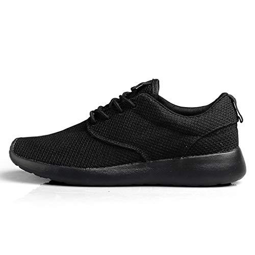 ANJUNIE Men's Mesh Ultra Breathable Low-Top Sneakers Lightweight Anti-Slip Walking Shoes