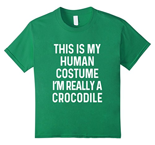 Halloween Costumes Ideas For Young Adults (Kids Funny Crocodile Costume Shirt Halloween Adults Kid Men Women 10 Kelly Green)