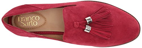 Women's Flat Hadden M Vintage US Sarto Franco Loafer Red pZqHwW4x71