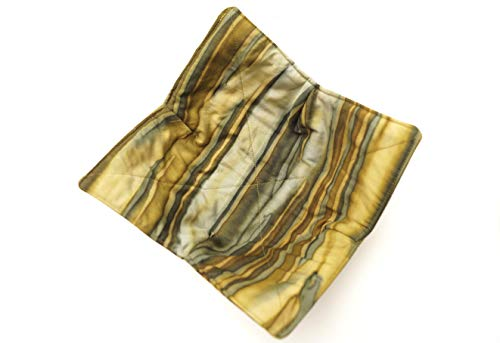 Batik Fabric Microwave Bowl Cozy in Shades of Green