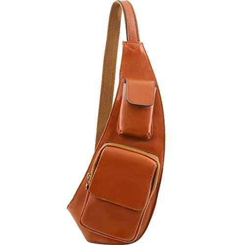 Tuscany Leather - Sac bandoulière en cuir - Miel
