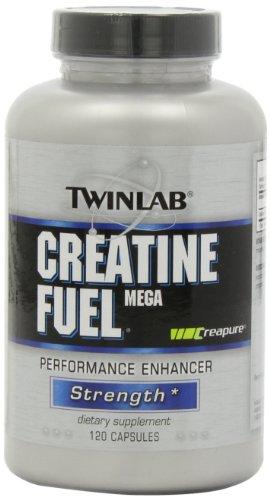 Twinlab Creatine Fuel Mega Performance Enhancer, Strength, 120 Capsules (Twinlab Creatine Fuel Stack compare prices)
