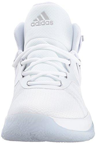 Adidas Performance Heren Explosieve Bounce Loopschoen Wit / Grijs Twee / Wit