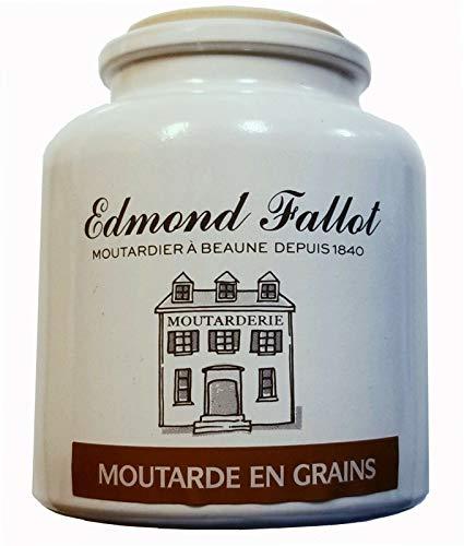 Edmon Fallot – Oude stijl mosterd in graan en steengoed pot