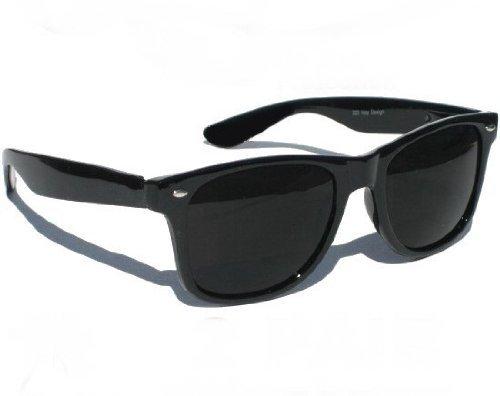 Black Black os Purecity Glasses Gafas Fashion Mirror estilo 80 los de Retro a Revo sol de Glass geek Fashion de xwBfgqC
