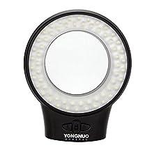 Yongnuo Wj-60 Macro Ring Photography Continuous LED Light Lamp with 7 Adapter Rings for Camcorder Canon Nikon Panasonic Digital SLR Camera