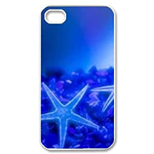 Hard Shell Case Of Starfish Customized Bumper Plastic case For Iphone 4/4s