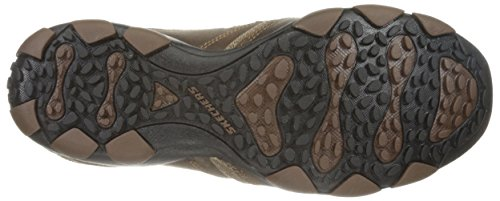 Skechers Mens Diametro Valen Slip-on Mocassino Marrone Scuro