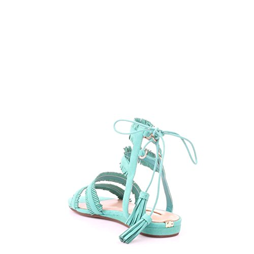 GUESS Jalisa - Sandalias de Dedo Mujer Azul
