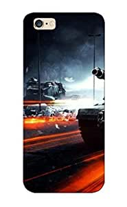 Fashion PC Case Cover For Apple Iphone 6 Plus 5.5 Inch Battlefield Lovers