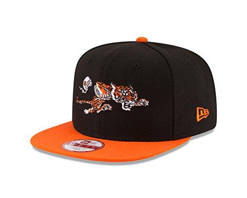 NFL Cincinnati Bengals Historic Baycik 9Fifty Snapback Cap, One Size, Black ()
