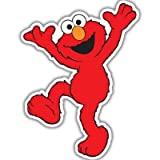 "Elmo Sesame Street vynil car sticker 4"" x 5"""