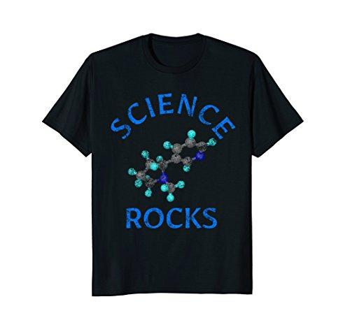 Science Rocks T-shirt - Science Rocks Molecule T-Shirt - Vintage Nerdy Science Tee