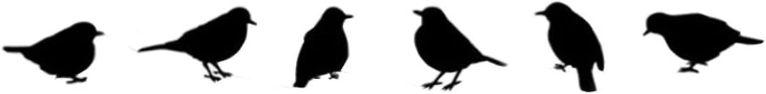 Wallpaper,Leewos DIY Flying Birds Pattern Decals Vinyl Removable Wall Stickers Home Room Decor Sticker Black, 13cmX14cm Clearance
