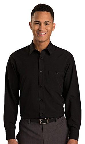 (Edwards Batiste Shirt, BLACK, Large)