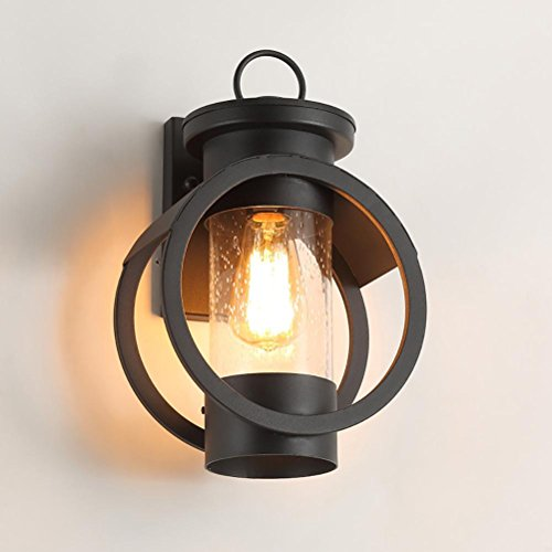 Wall lamp wall lamp creative waterproof outdoor door patio lamp courtyard lights corridor aisle lamps by OOFAY