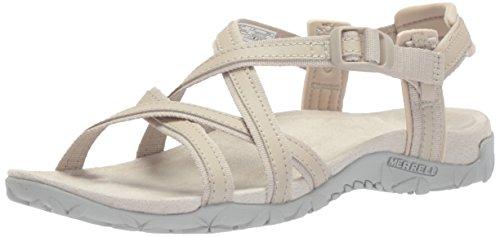 Merrell Terran Lining Lattice Sandals Ari Women's Silver 4Rq0r4x