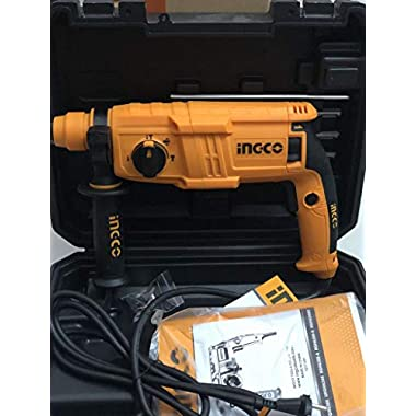 INGCO POWERTOOLS & HANDTOOLS 650W Rotary hammer With 3 SDS-PLUS drills 6